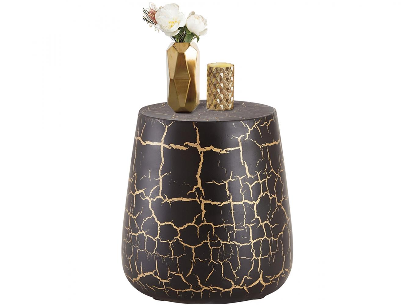 Odkládací stolek Arien, 41 cm, černá