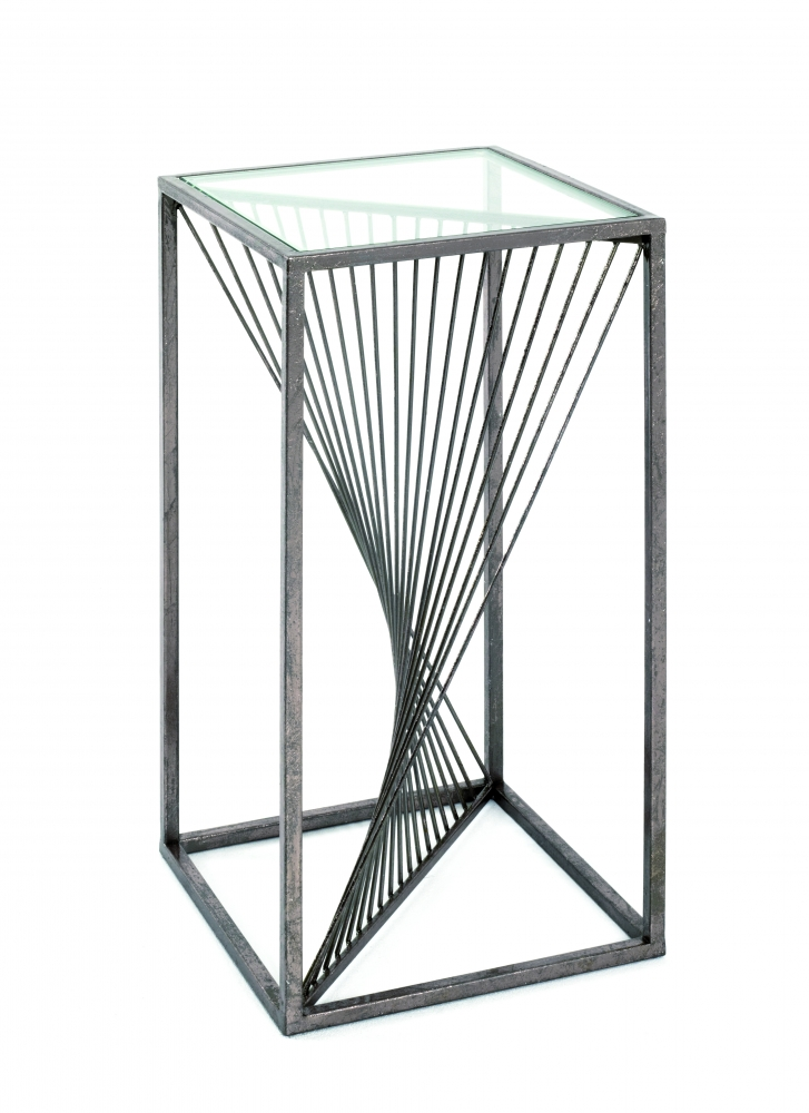 Odkládací stolek Arlet, 60 cm, bronz
