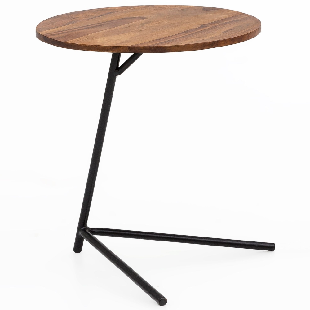 Odkládací stolek Athe, 46 cm, masiv Sheesham
