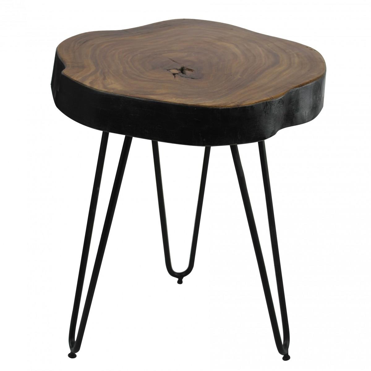 Odkládací stolek Bagli, 35 cm, masiv Sheesham