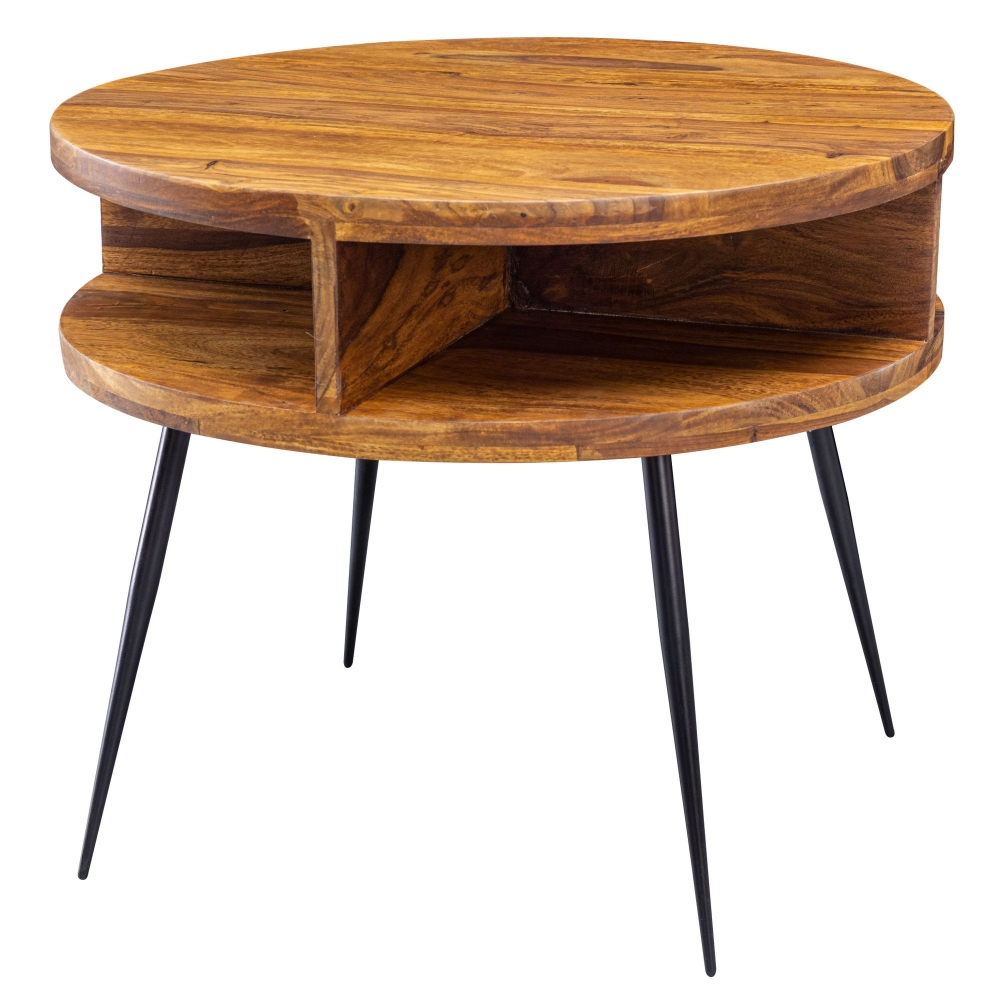 Odkládací stolek Batu, 60 cm, masiv Sheesham