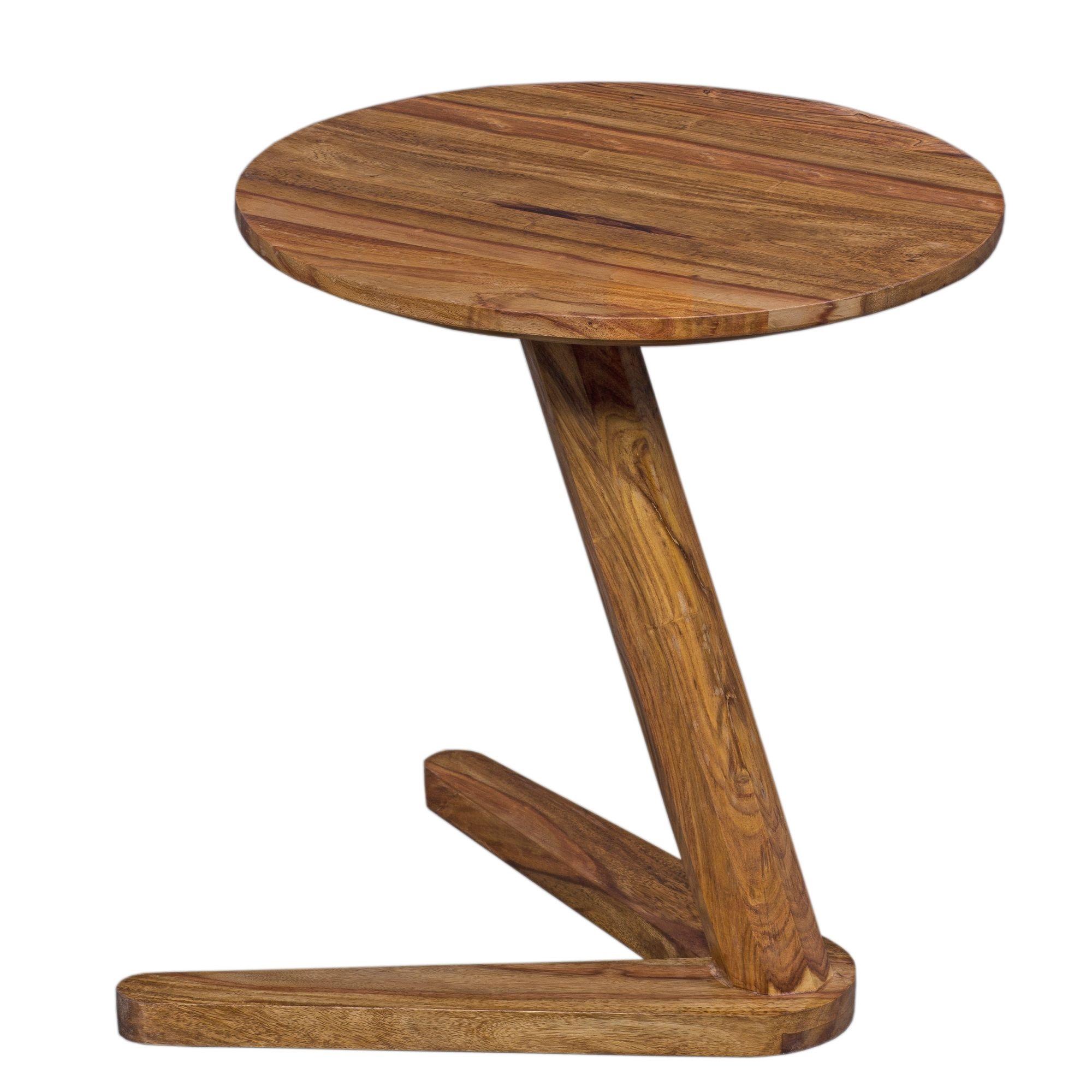 Odkládací stolek Boha, 45 cm, masiv Sheesham