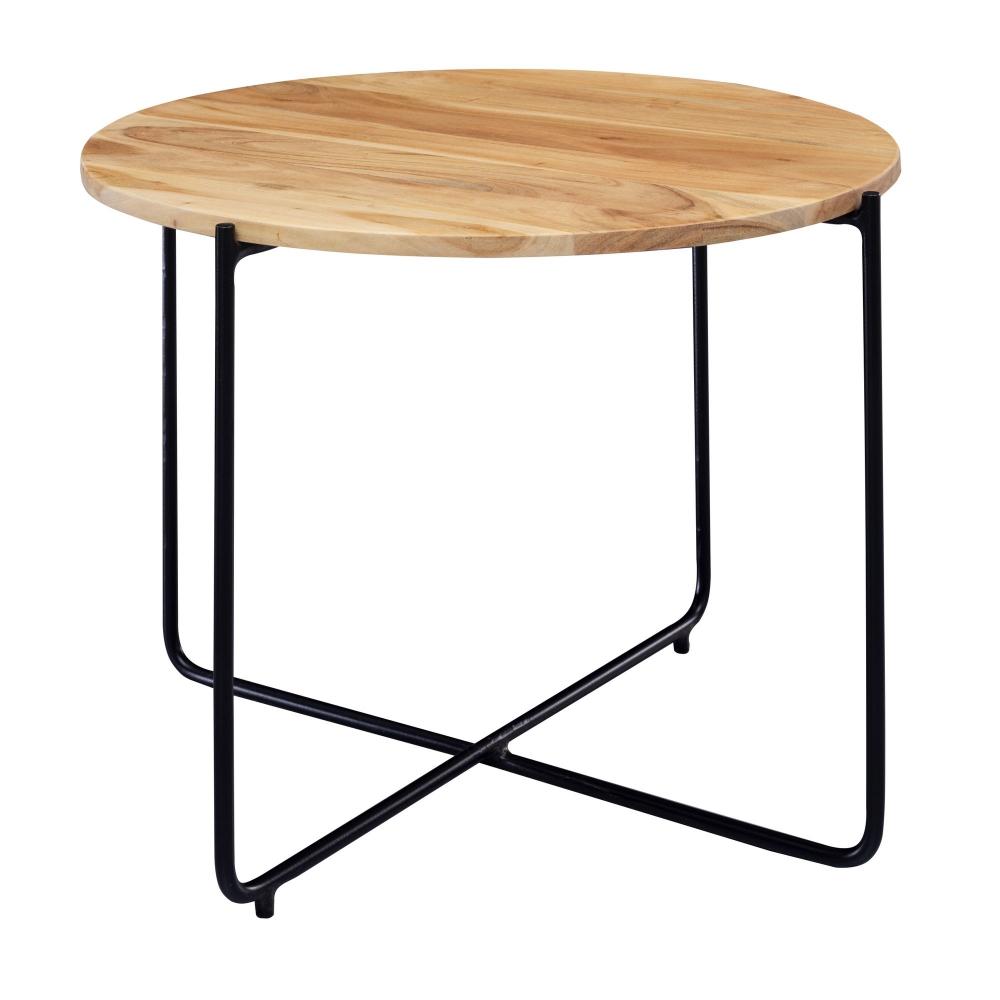 Odkládací stolek Cant, 59 cm, akát