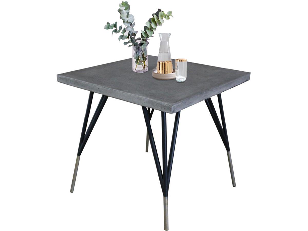 Odkládací stolek Clin, 70 cm, černá
