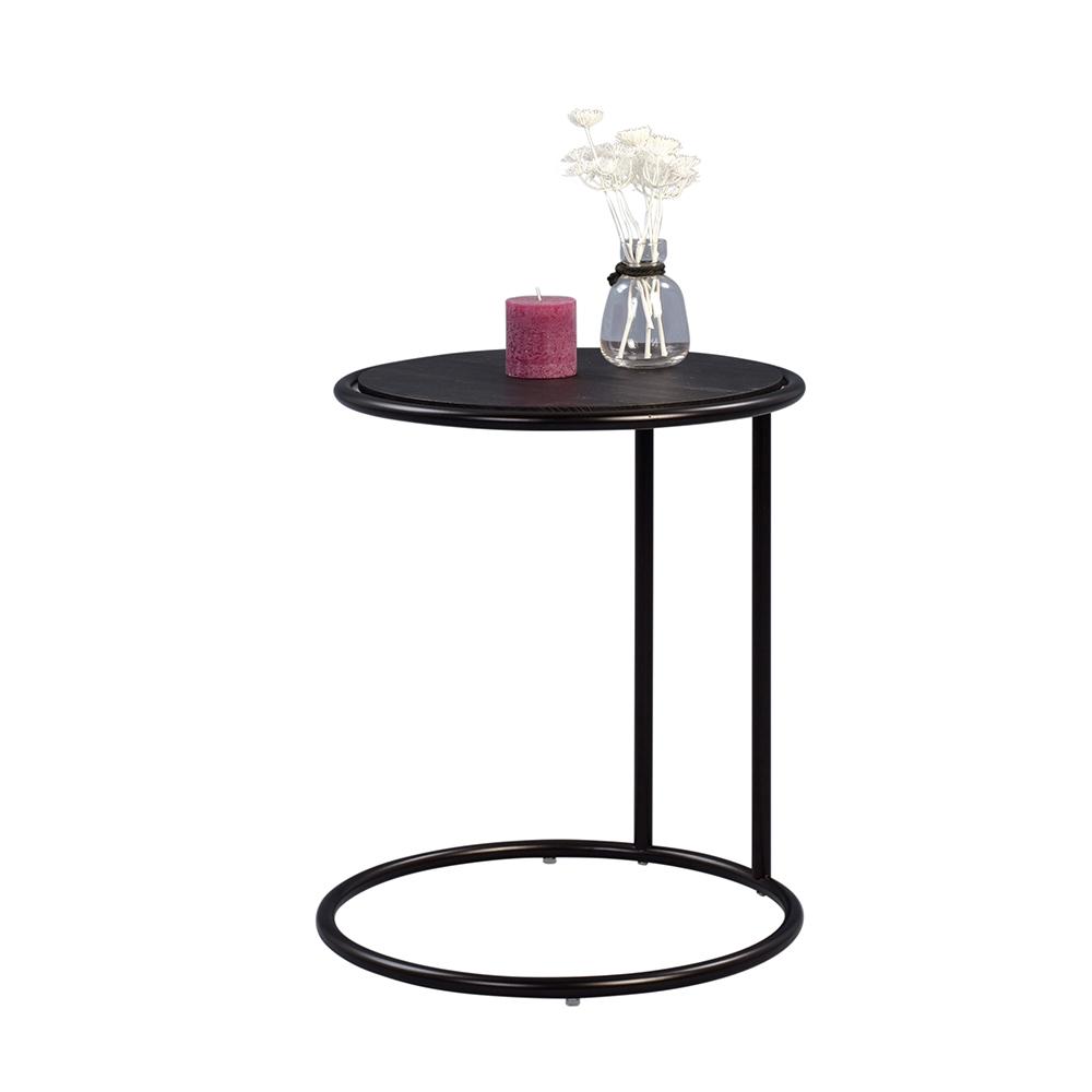 Odkládací stolek Dexter, 45 cm, černá