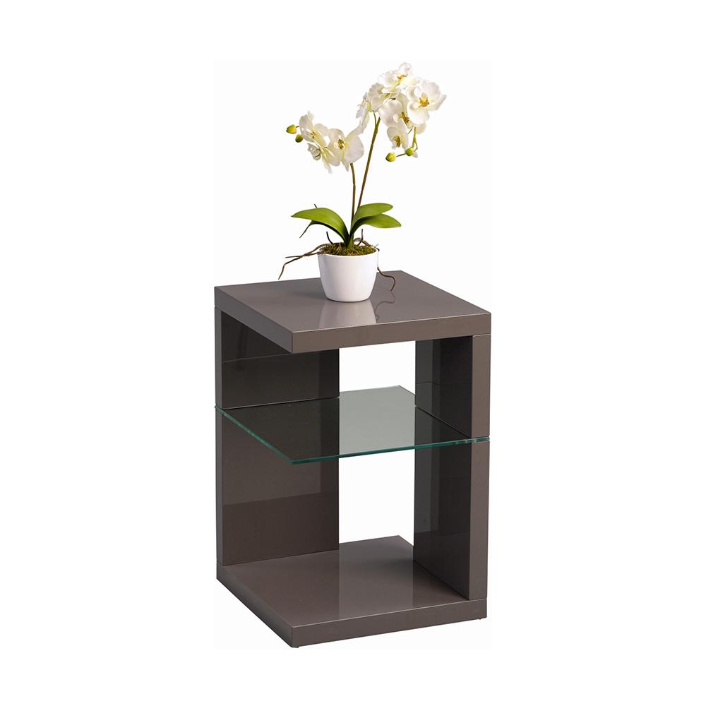 Odkládací stolek Domingo, 60 cm, antracitová