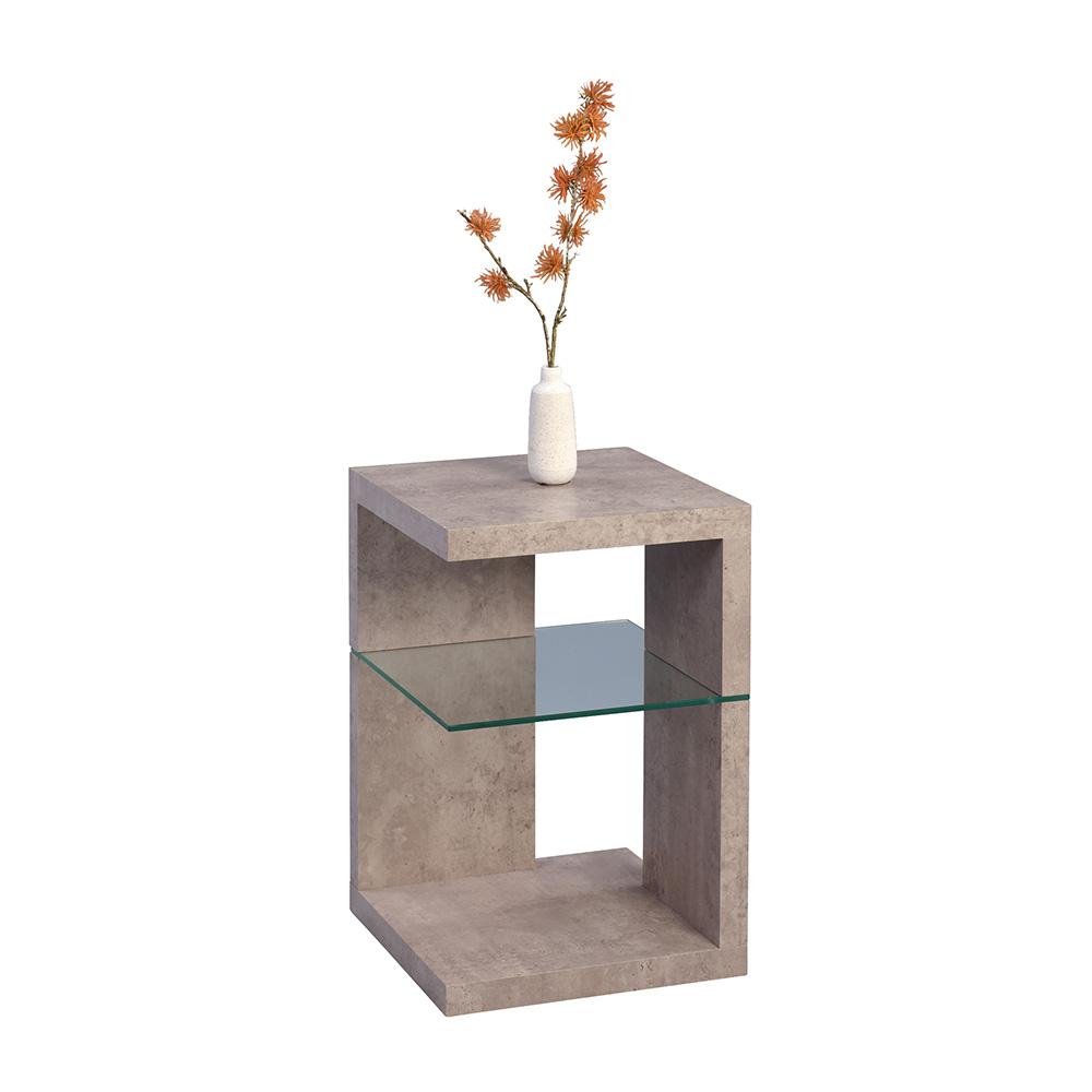 Odkládací stolek Domingo, 60 cm, beton