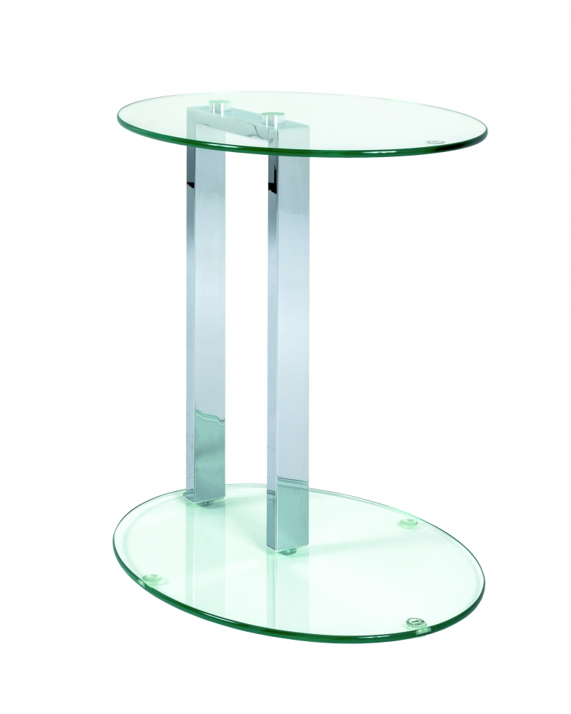 Odkládací stolek Donn, 50 cm, chrom