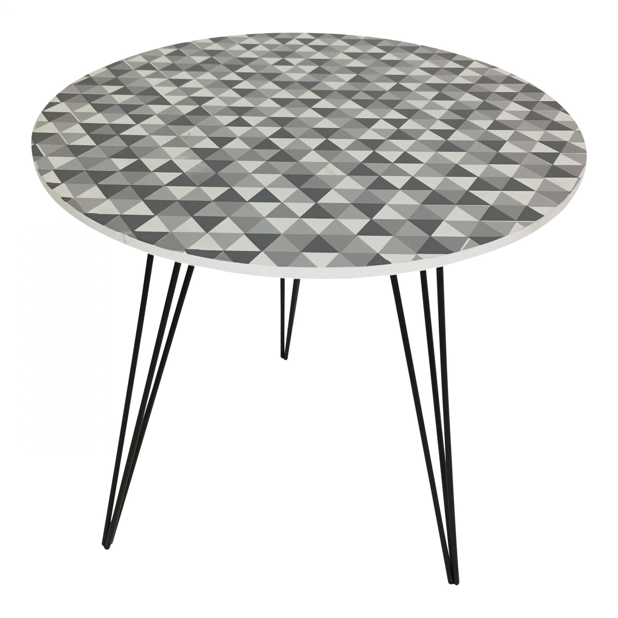 Odkládací stolek Dragon, 40 cm, mozaika