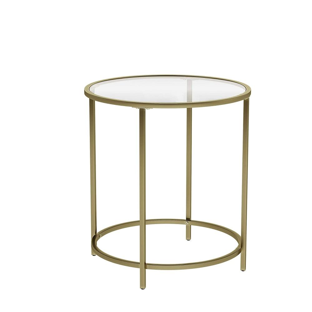 Odkládací stolek Einat, 55 cm, zlatá