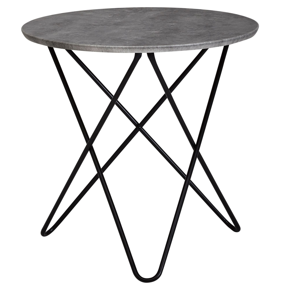 Odkládací stolek Elea, 60 cm, šedá