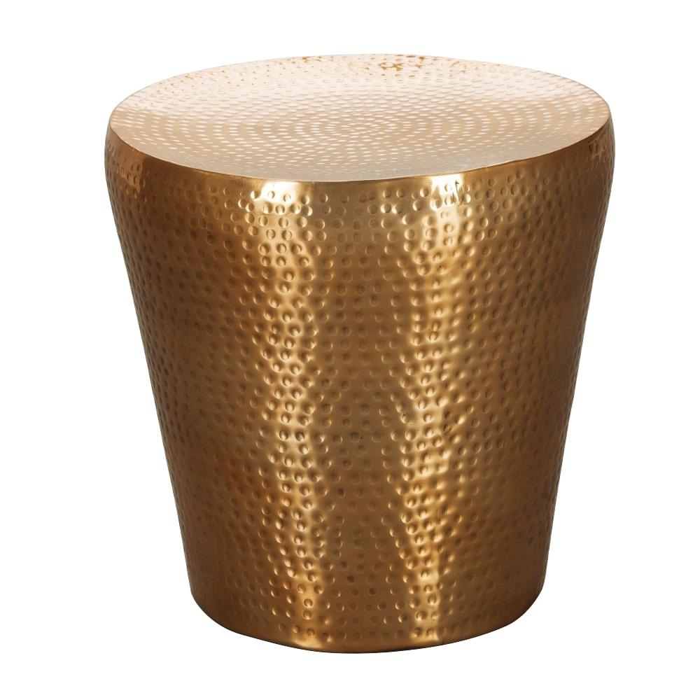 Odkládací stolek Enoa, 41 cm, zlatá