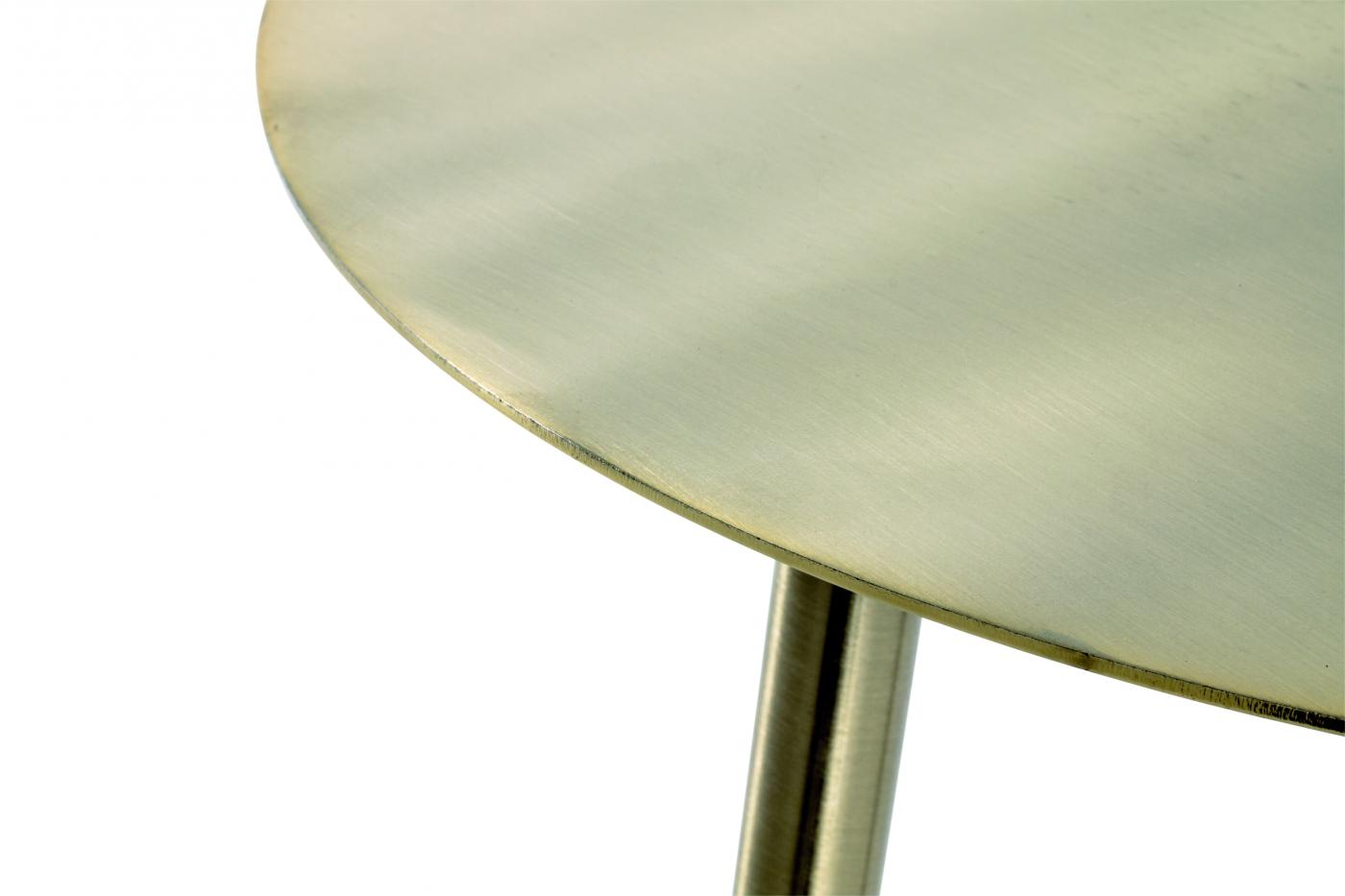 Odkládací stolek Fabio I, 45 cm, zlatá