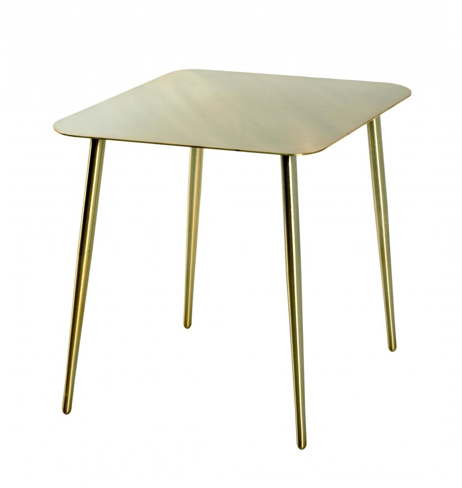 Odkládací stolek Fabio II, 45 cm, zlatá