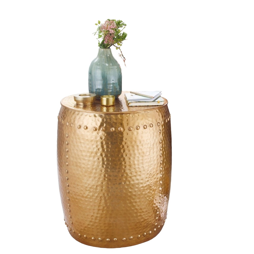 Odkládací stolek Fio, 49 cm, zlatá