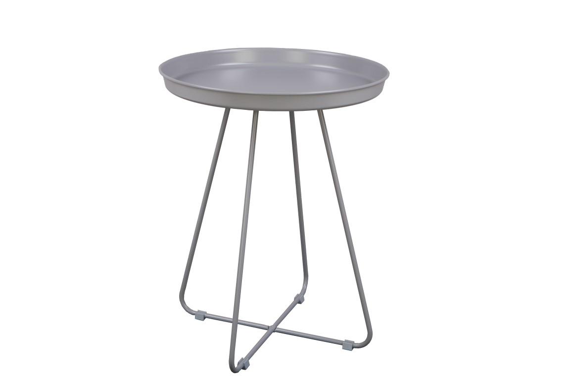 Odkládací stolek Foden, 42 cm, šedá