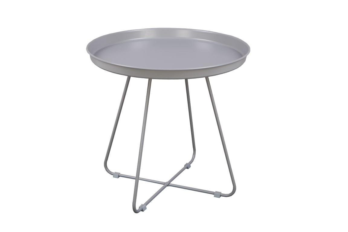 Odkládací stolek Foden, 50 cm, šedá