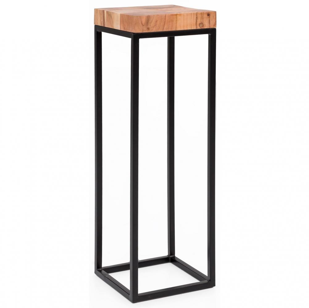 Odkládací stolek Helle, 97 cm, masiv akát