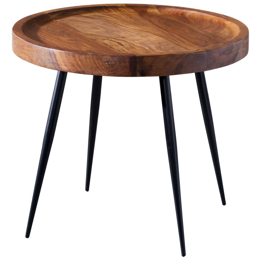 Odkládací stolek Henry, 46 cm, masiv Sheesham