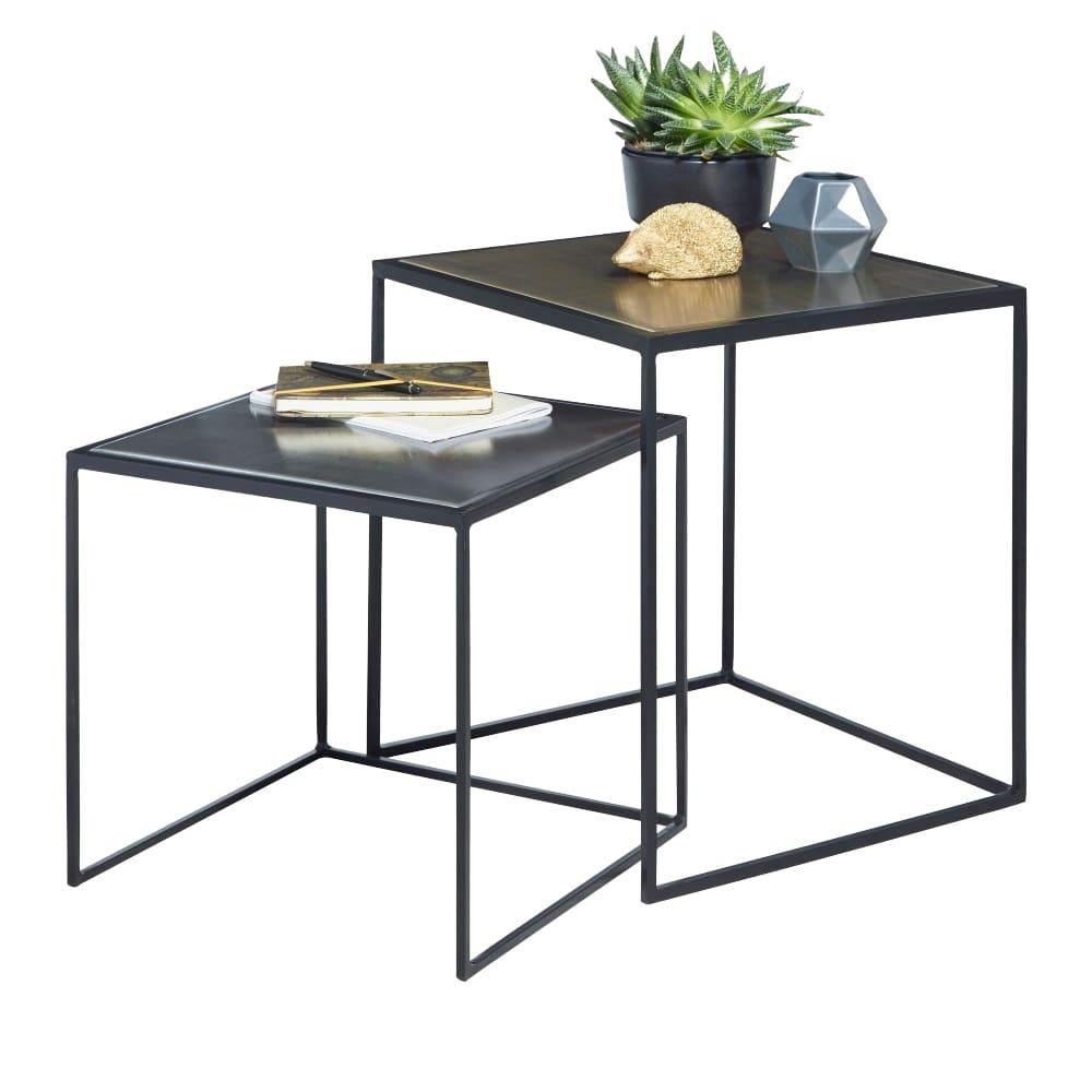 Odkládací stolek Holly (SADA 2 ks)