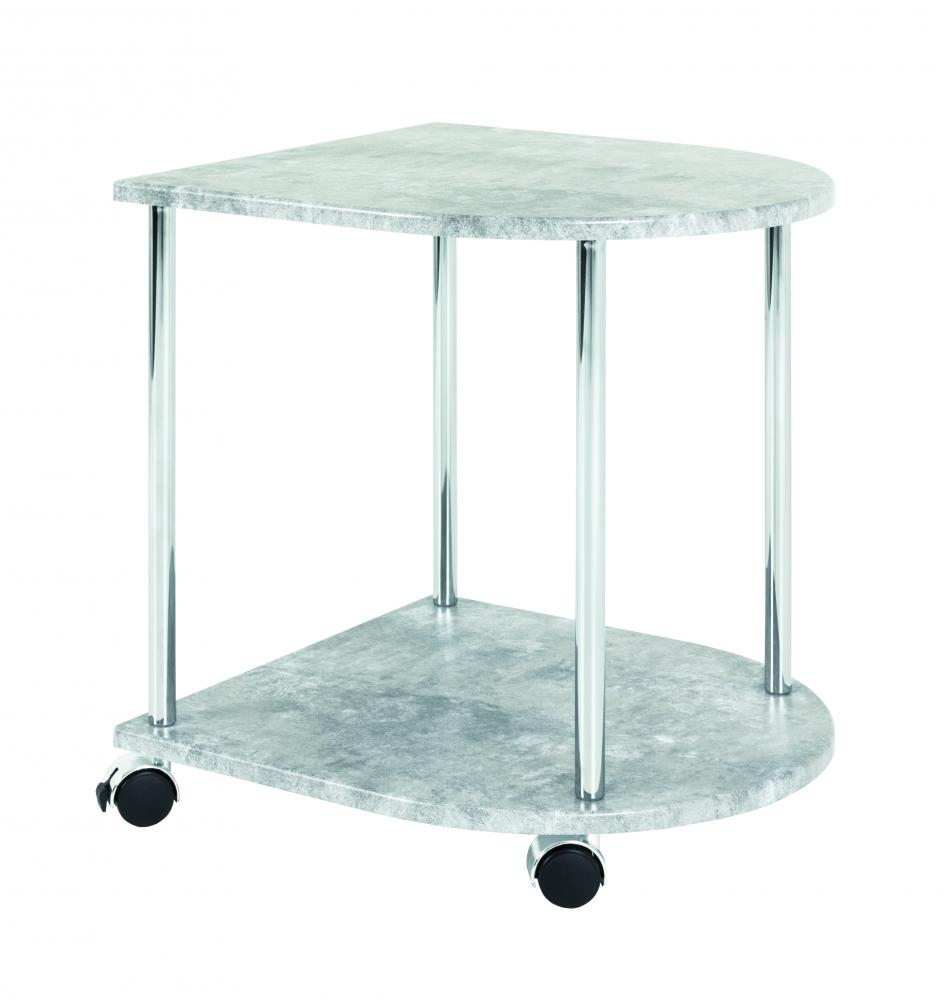 Odkládací stolek Keith III, 45 cm, beton