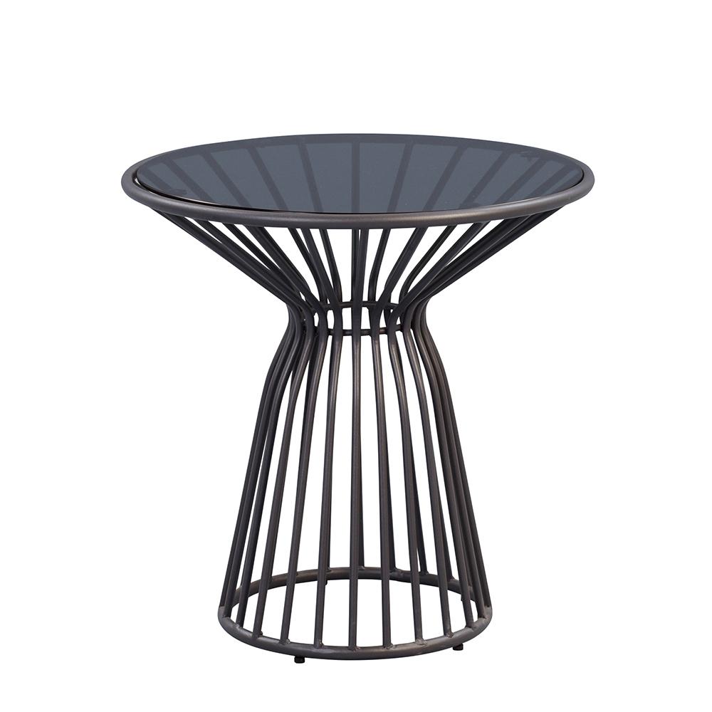 Odkládací stolek kulatý Brisco, 50 cm