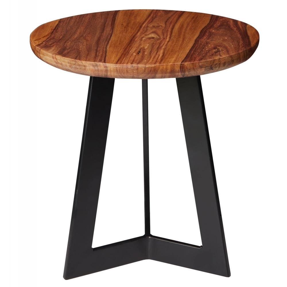 Odkládací stolek Linea, 37 cm, masiv Sheesham