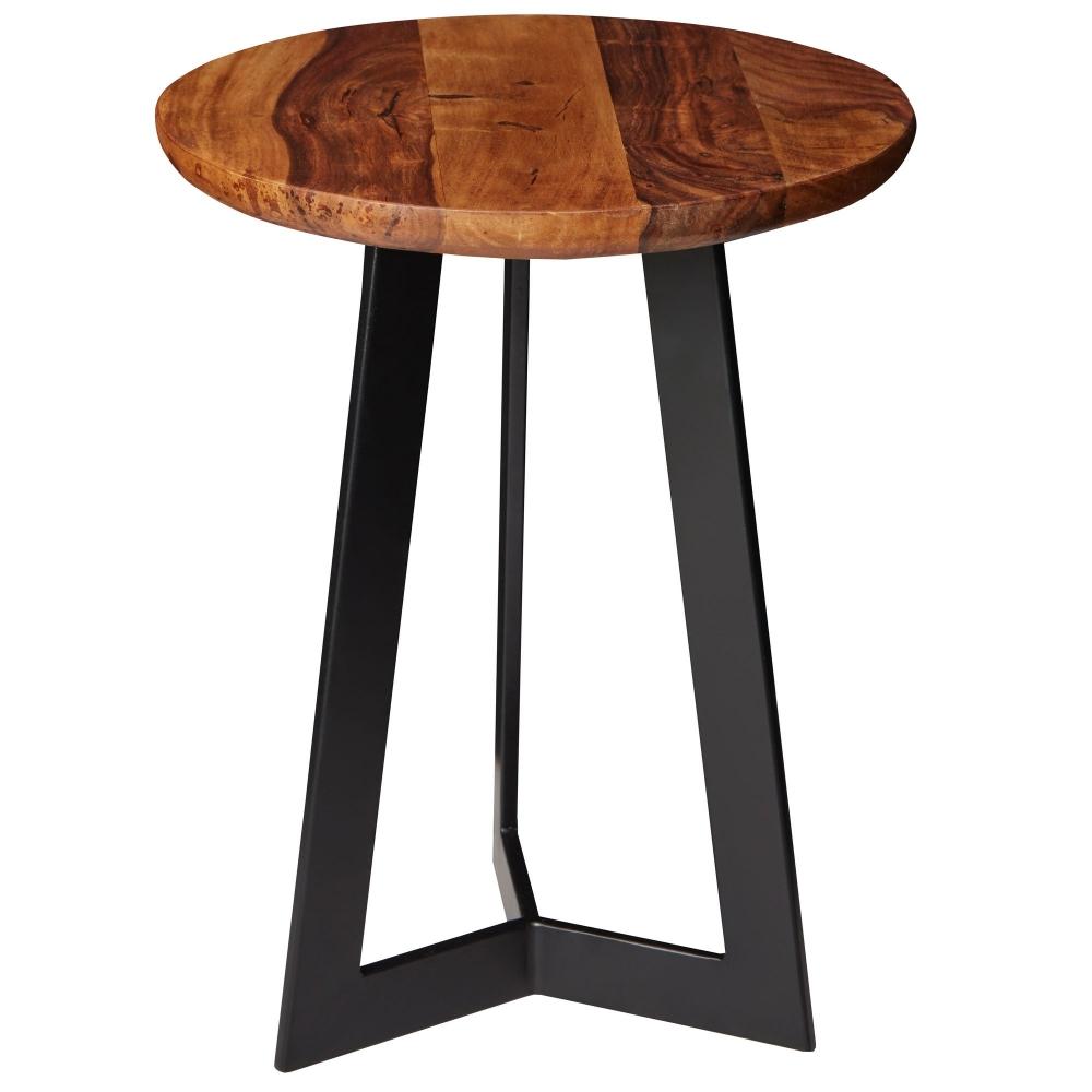 Odkládací stolek Linea, 45 cm, masiv Sheesham
