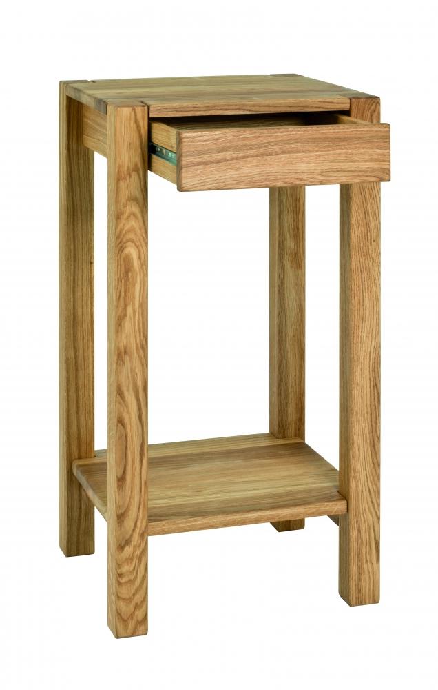 Odkládací stolek Molk, 73 cm, dub