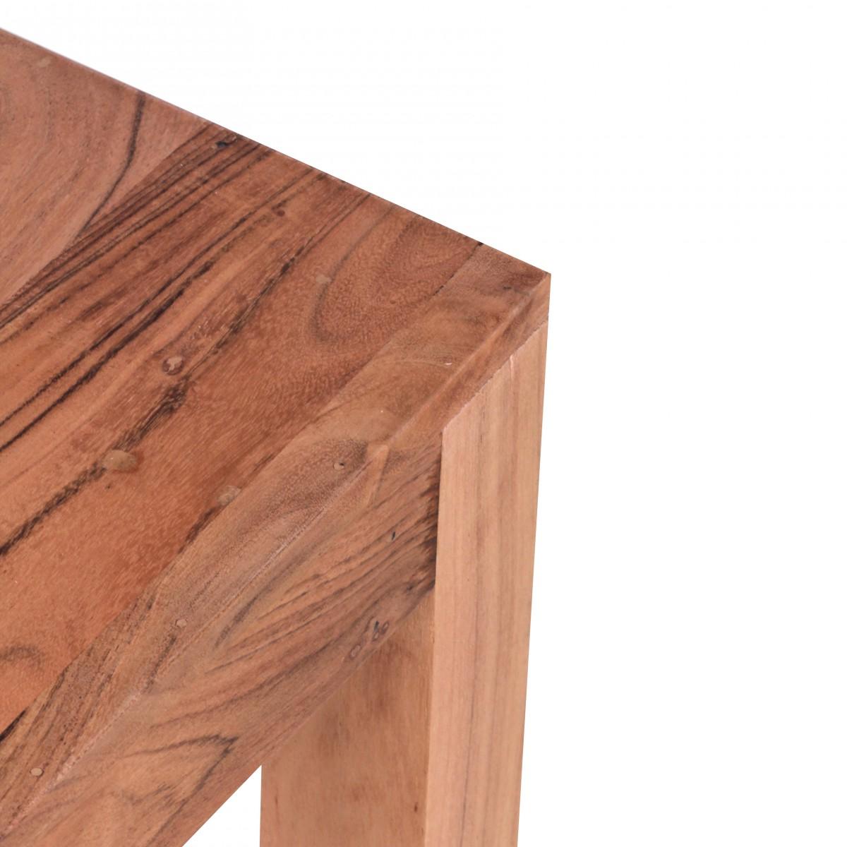 Odkládací stolek Mumbai, 35 cm, masiv akát