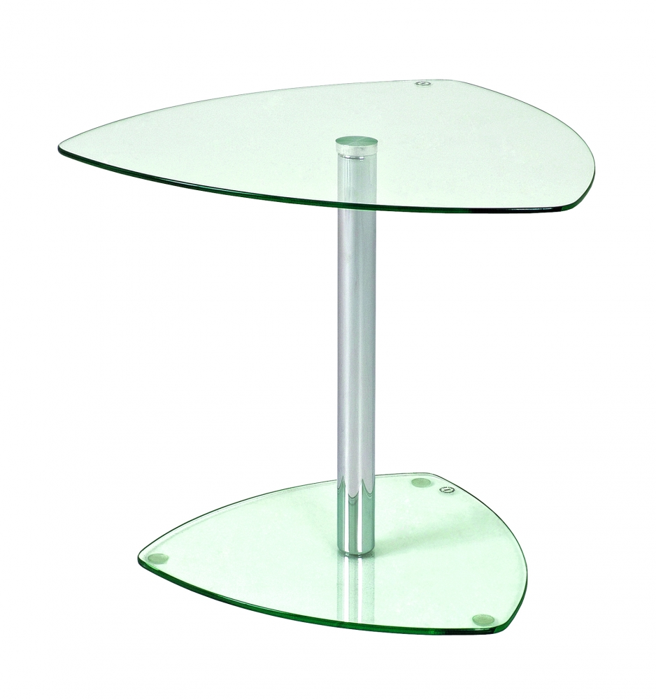Odkládací stolek Nils, 45 cm, čirá