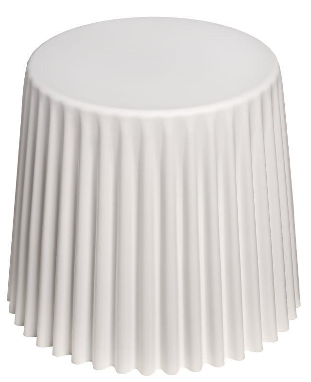 Odkládací stolek Prop, 47 cm, bílá