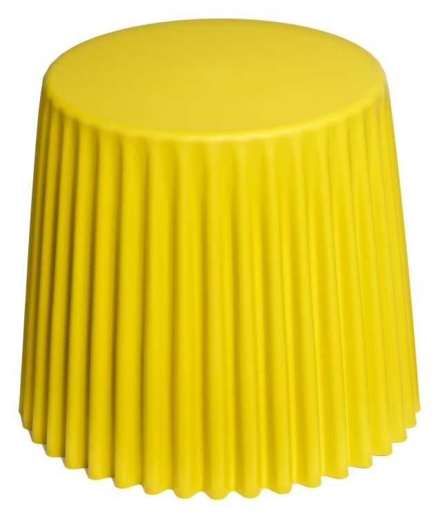 Odkládací stolek Prop, 47 cm, žlutá