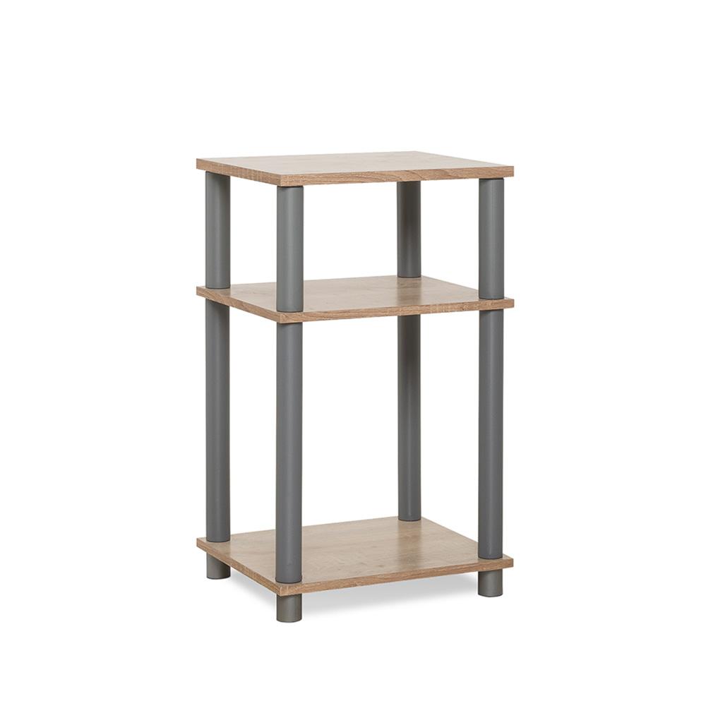 Odkládací stolek / regál Rohan, 57 cm