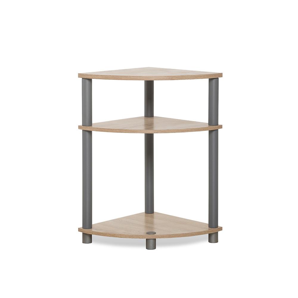 Odkládací stolek / regál rohový Rohan, 58 cm