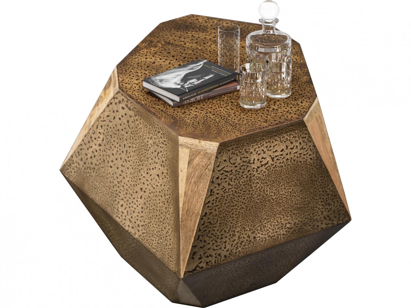 Odkládací stolek Roa, 40 cm, hnědá