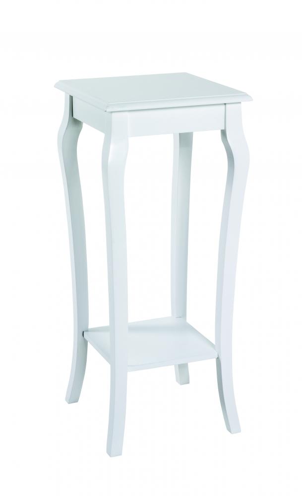 Odkládací stolek Ross, 71 cm, bílá