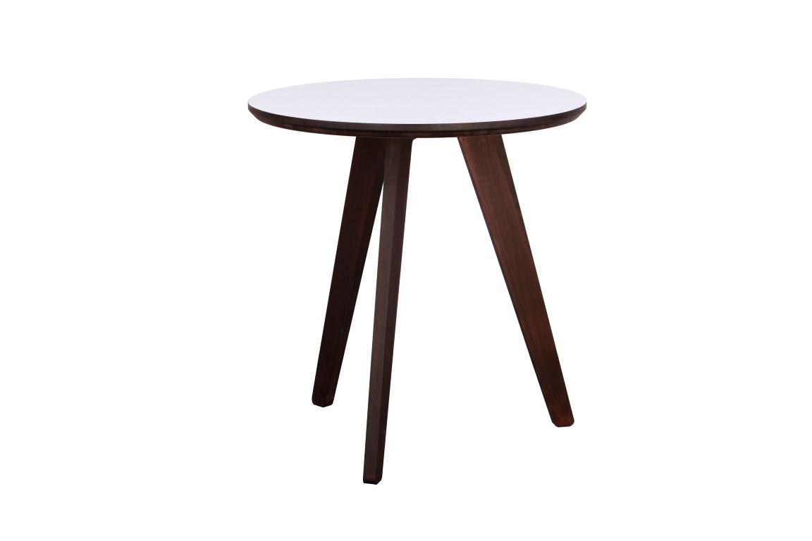 Odkládací stolek Ruby, 53 cm, tmavé dřevo