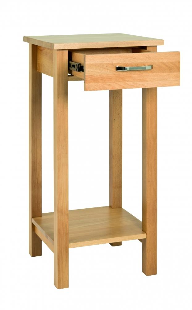 Odkládací stolek s 1 zásuvkou Angelino, 75 cm