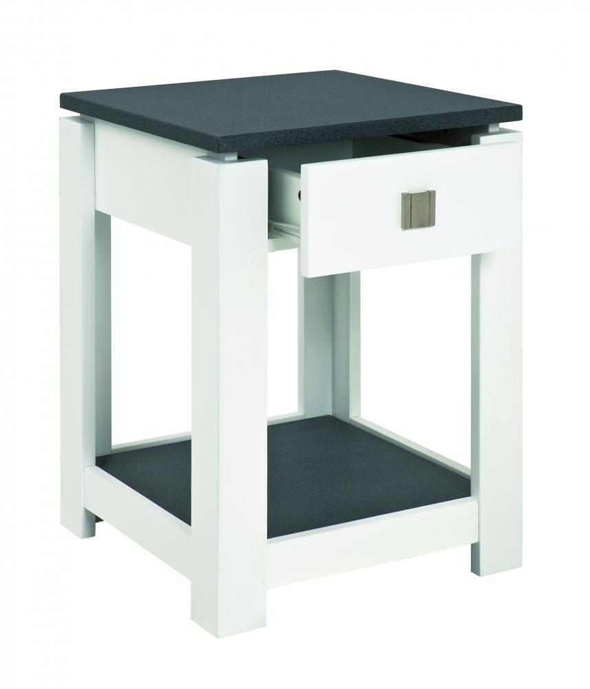 Odkládací stolek s 1 zásuvkou Carlo, 55 cm