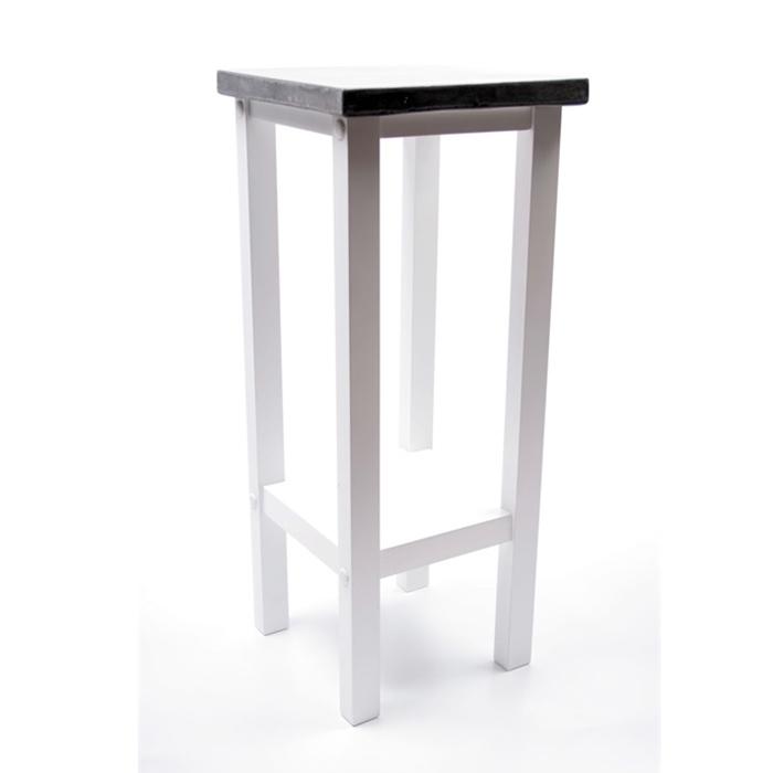 Odkládací stolek s betonovou deskou Hugo, 60 cm