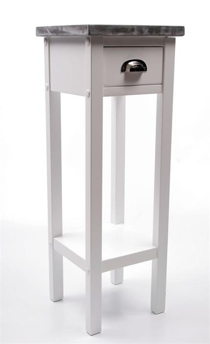 Odkládací stolek s betonovou deskou Hugo, 70 cm