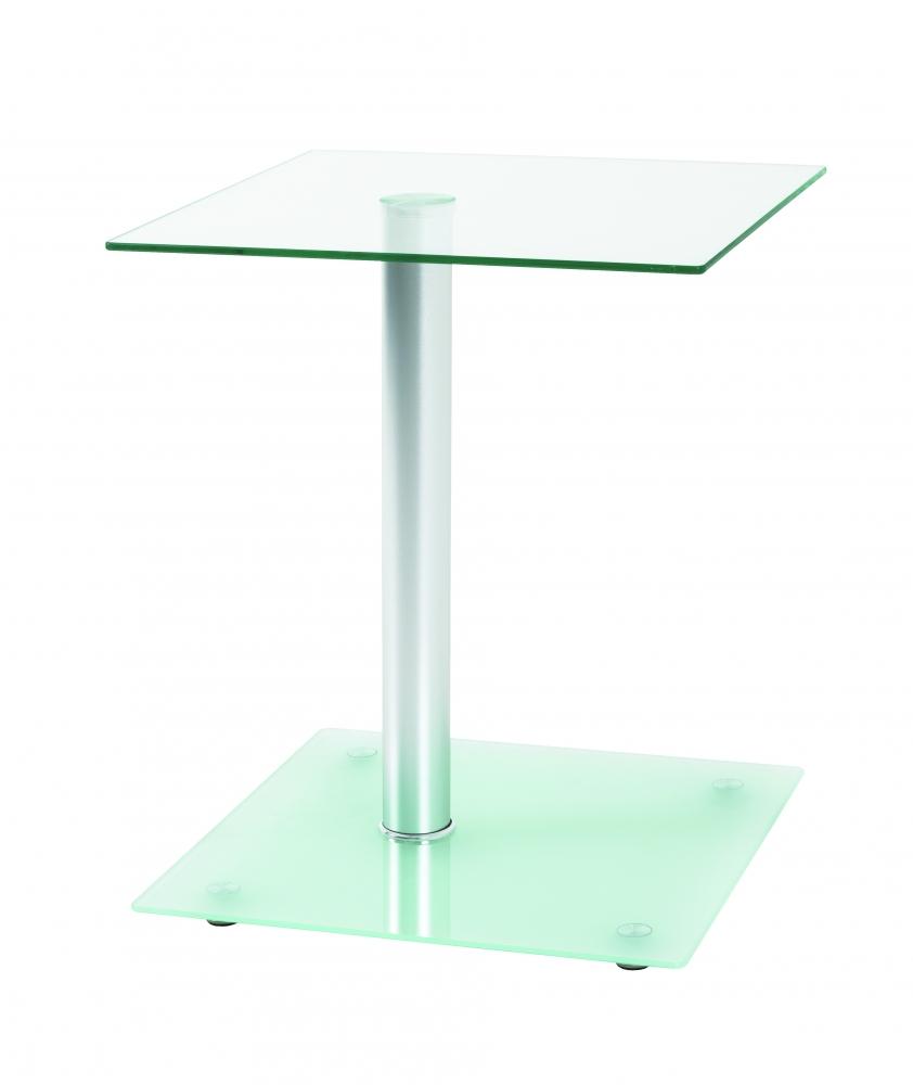 Odkládací stolek Shiloh, 52 cm, hliník