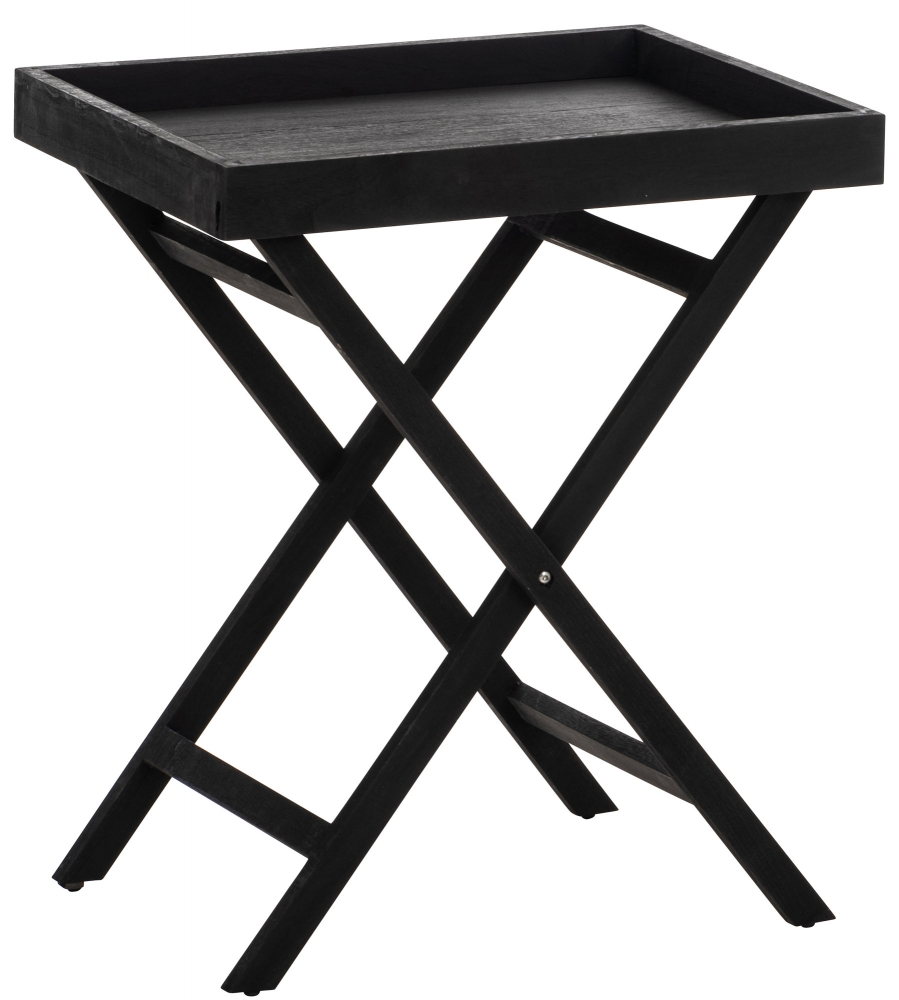 Odkládací stolek Simone, 61 cm, černá