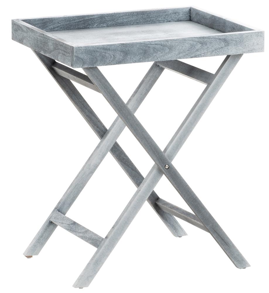 Odkládací stolek Simone, 61 cm, šedá