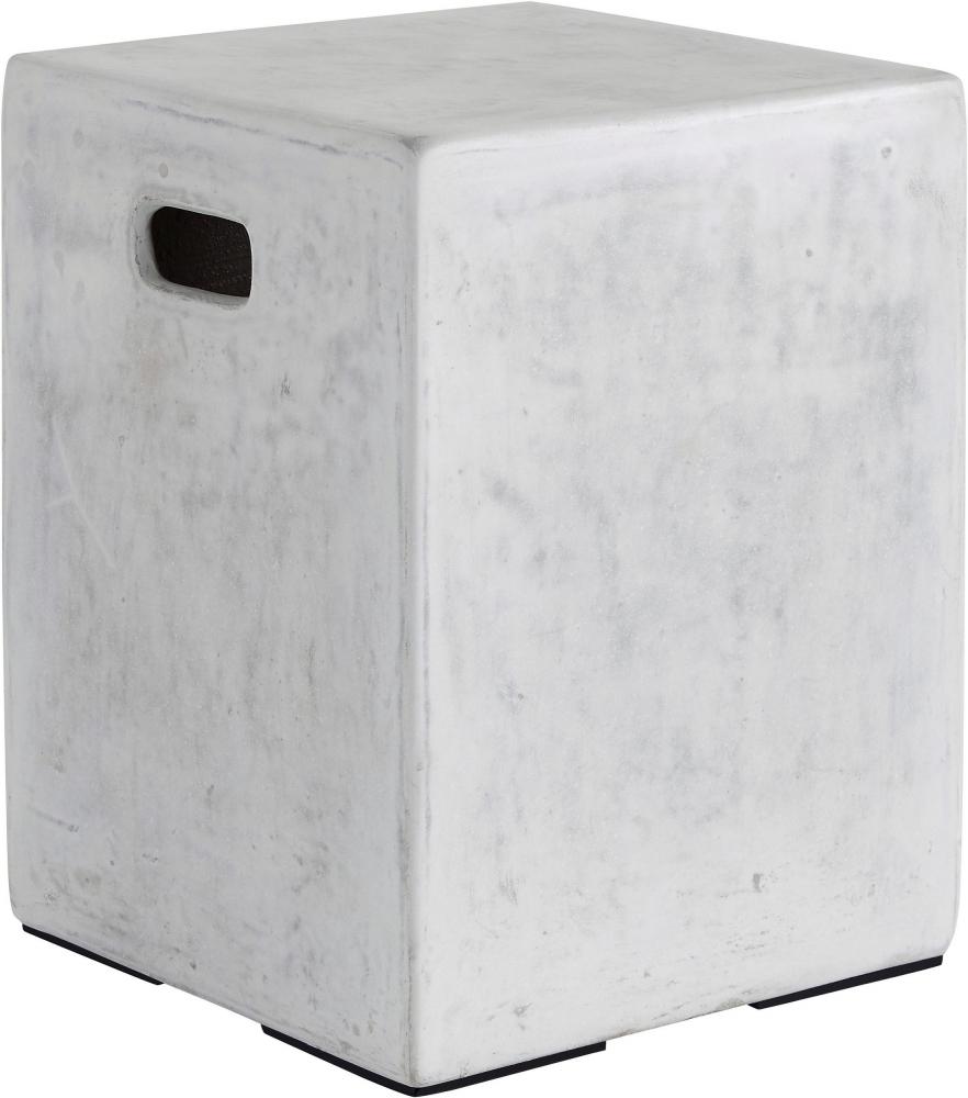 Odkládací stolek Sque, 47 cm, bílá