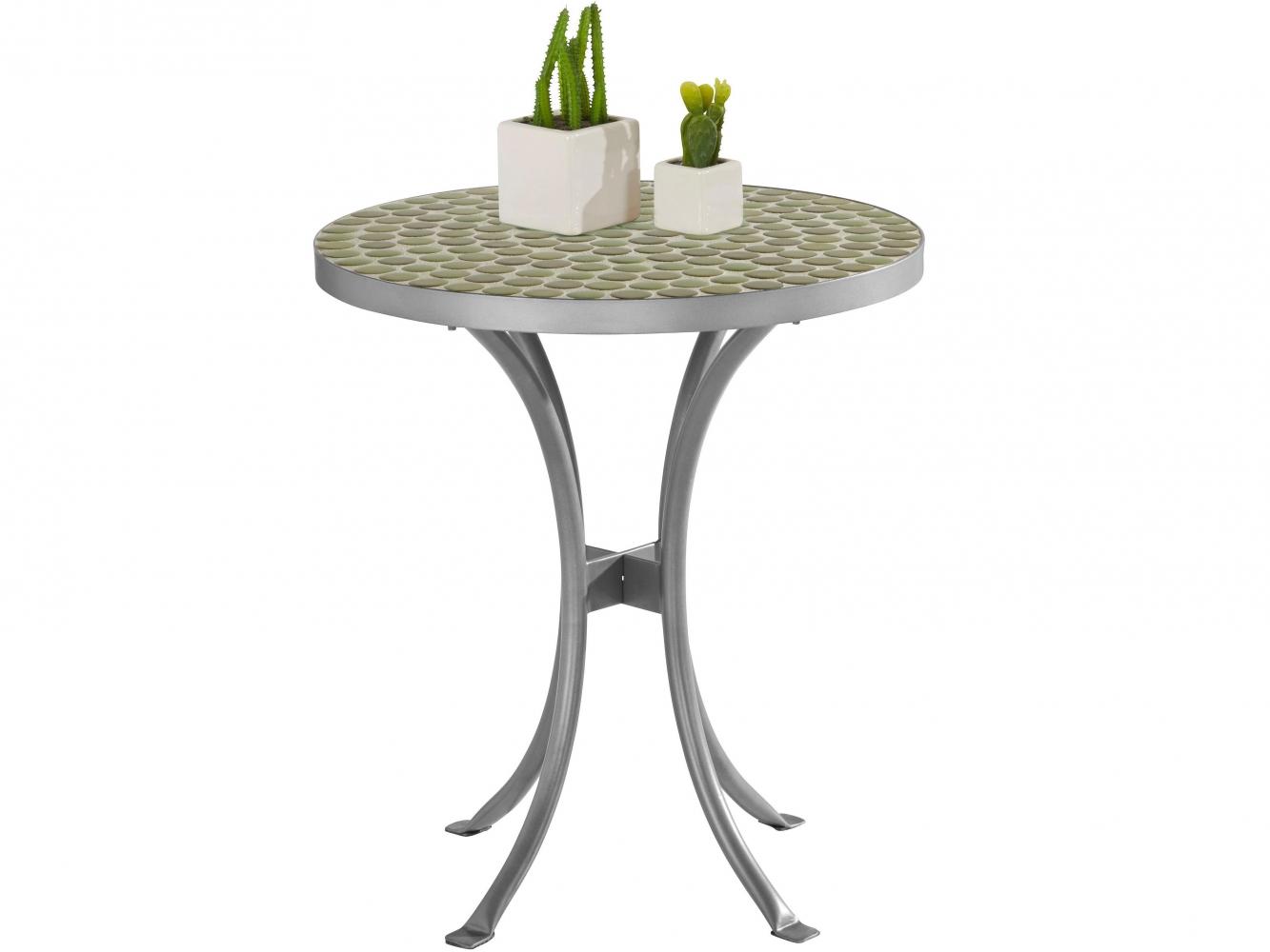 Odkládací stolek Stephanie, 51 cm, šedá