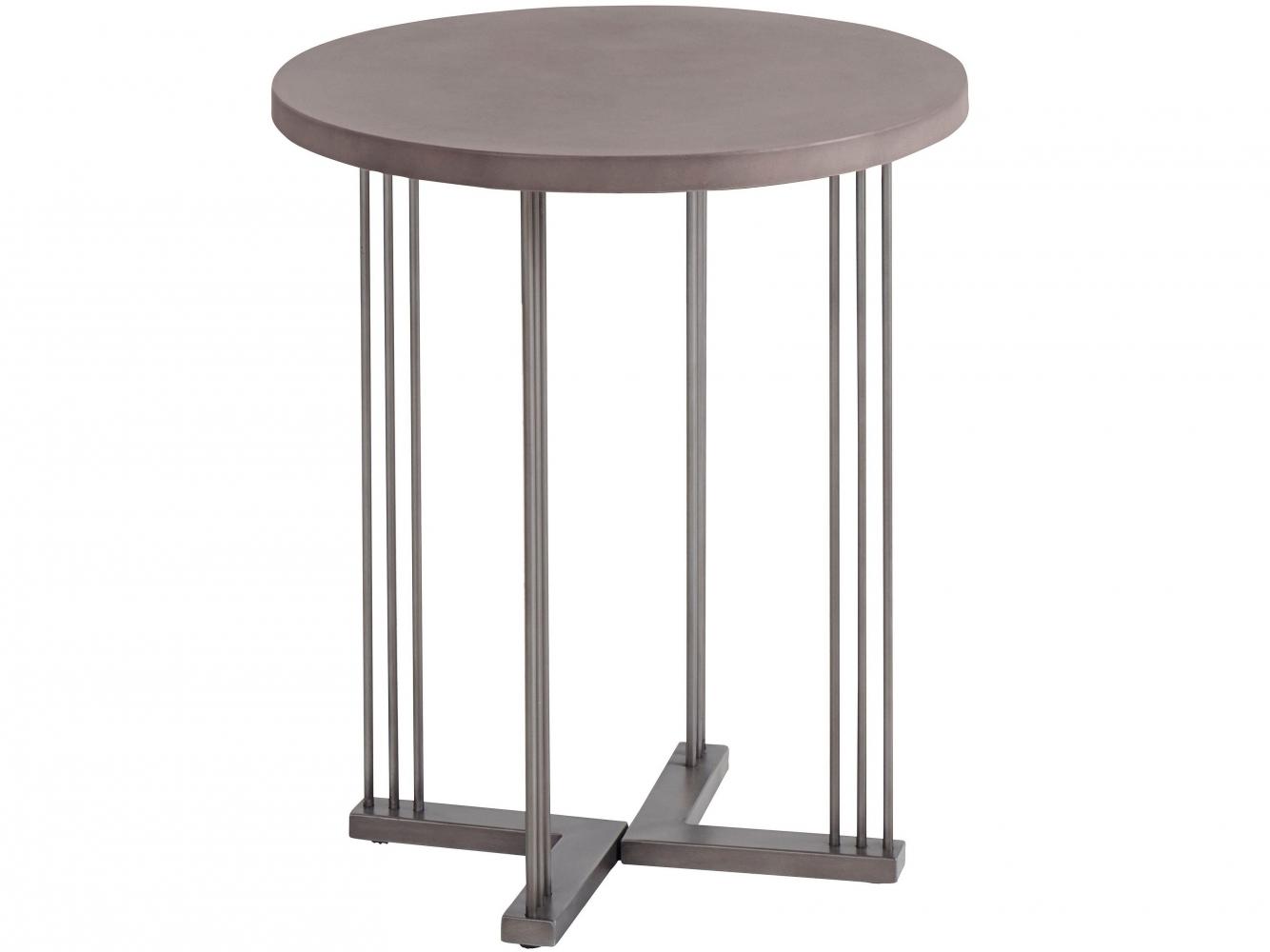 Odkládací stolek Stephanie, 60 cm, chrom