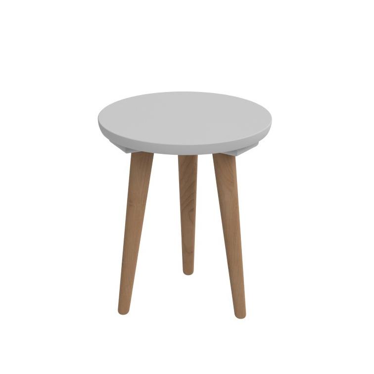 Odkládací stolek Tafel, 30 cm, šedá