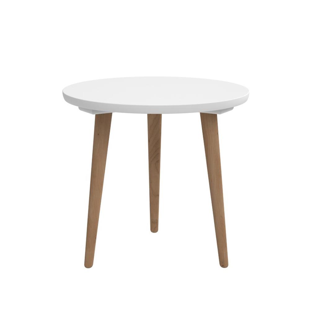 Odkládací stolek Tafel, 45 cm, bílá